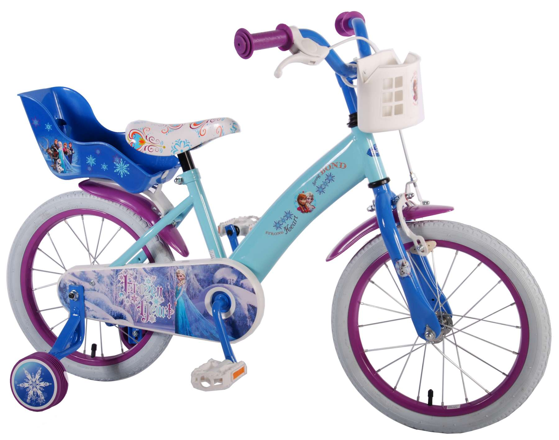 Disney frozen 16 inch girls bicycle pictures to pin on pinterest
